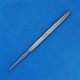 Fox Round Dermal Curette - 1 mm, 14.5cm