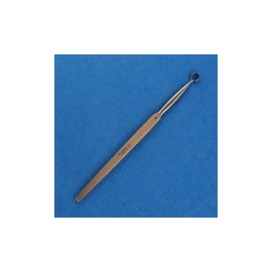 Fox Round Dermal Curette - 6mm, 14.5cm