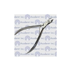 Cuticle Nipper - Single Spring Concave Jaws 11.5cm/4 1/2""