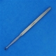 Fox Oval Dermal Curette - 4mm,  14.5cm