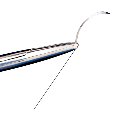 """FS-3 Needle Style 24"""" Suture Length 6-0"""